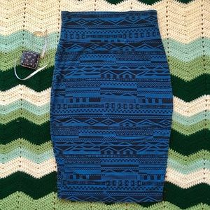 UO Truly Madly Deeply stretchy pencil skirt. L